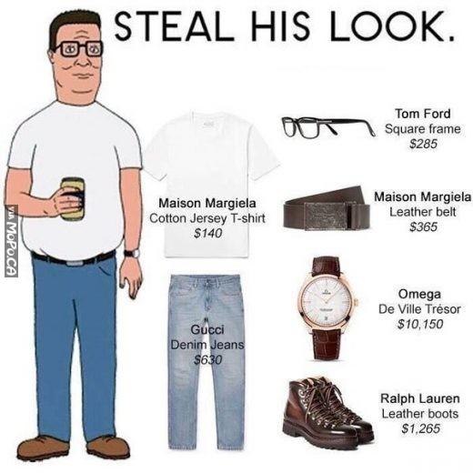 steal his look � mopo geek